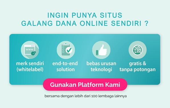 Banner daftar bersedekah.com
