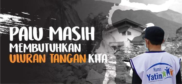 Gambar banner Bersama Bantu Ringankan Derita Gempa Donggala