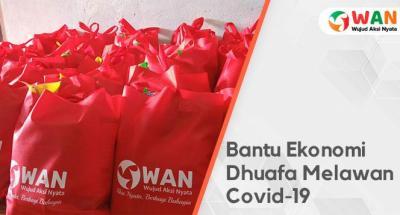 Banner Program Bagikan Sembako Gratis untuk Dhuafa Terdampak Wabah Covid-19                                      title=