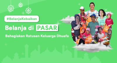 Gambar banner Belanja Kebaikan Sembako Ramadan untuk Keluarga Dhuafa Pelosok Desa