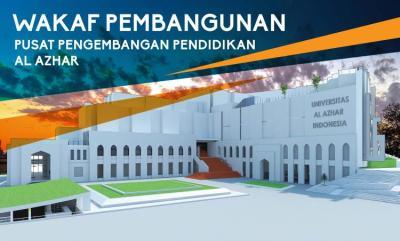 Banner Program Wakaf Pembangunan Pusat Pengembangan Pendidikan Al Azhar                                      title=