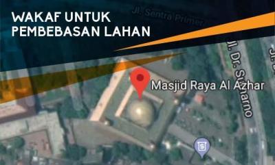 Gambar banner WAKAF UNTUK PEMBEBASAN LAHAN