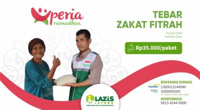 Banner program Pembayaran Zakat Fitrah