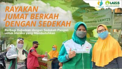 Banner Program Sinergi Kebaikan bersama LAZiS Jateng dalam Jumat Berbagi                                      title=