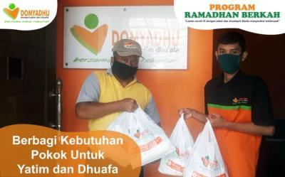 Banner Program Sembako untuk yatim dhuafa dan masyarakat terdampak                                      title=