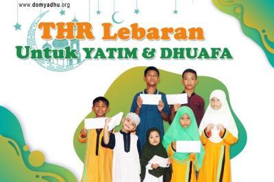 Banner Program THR Untuk Yatim dan Dhuafa                                      title=