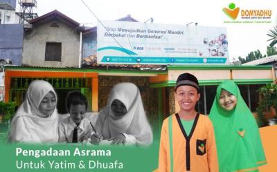 Banner Program Panti Asuhan Layak Untuk Yatim dan Dhuafa.                                      title=