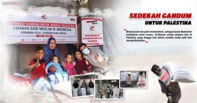 Banner Program Sedekah Gandum untuk Palestina                                      title=