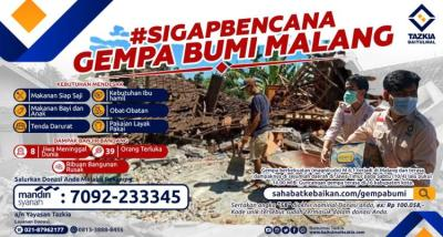 Gambar banner SIGAPBENCANA Gempa Bumi Malang