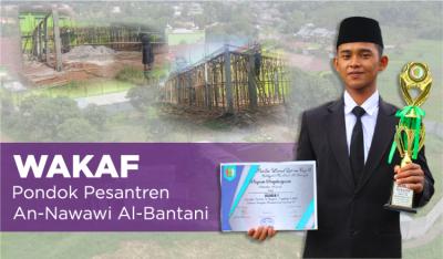 Banner Program Wakaf Pondok Pesantren An Nawawi al Bantani                                      title=