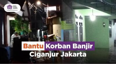 Gambar banner Bantu Korban Banjir Ciganjur Jakarta