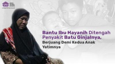 Gambar banner Demi Buah Hati, Ibu Tahan Sakit Terus Bekerja