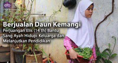 Gambar banner Jual Kemangi, Elis Berjuang Lanjutkan Pendidikan