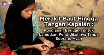 Gambar banner Merakit Baut, Rosdianah Lanjutkan Pendidikan