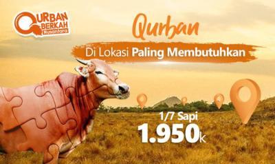 Banner program QURBAN SAPI KOLEKTIF