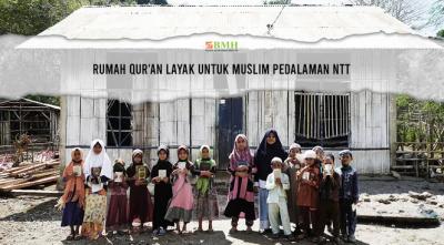 Gambar banner Bangun Rumah Quran Layak di Pedalaman NTT