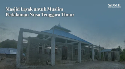 Gambar banner Bantu Muslim Pedalaman NTT Sholat di Masjid Layak