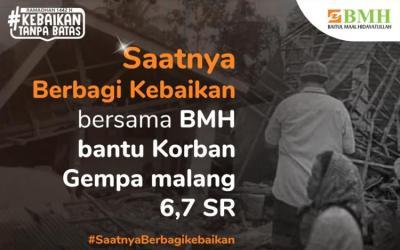 Gambar banner Urgent, Gempa 6,7SR Guncang Malang