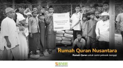 Gambar banner Bangun Rumah Quran Pelosok Nusantara
