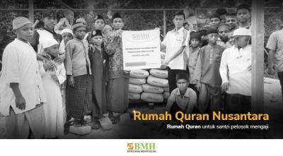 Gambar banner BANGUN RUMAH QURAN UNTUK PEDALAMAN NUSANTARA
