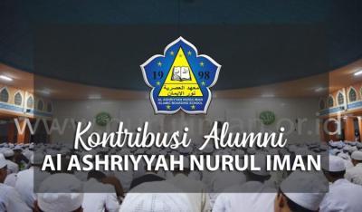 Banner Program Kontribusi Alumni Al Ashriyyah Nurul Iman                                      title=