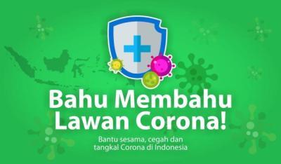 Gambar banner PEDULI COVID 19