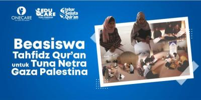 Banner Program Beasiswa Tahfidz Quran Palestina                                      title=