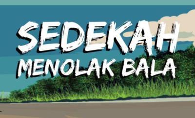 Gambar banner Tolak Bala Safar dengan Sedekah