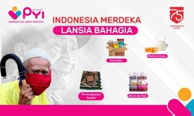 Banner Program Indonesia Merdeka Lansia Bahagia