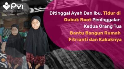 Banner program Bantu Fitri Bangun Rumah Yang Aman dan Layak