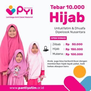 Gambar banner Hijab Untuk Yatim dan Dhuafa di Pelosok Nusantara