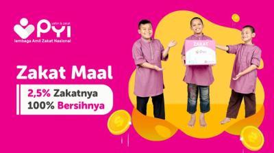 Gambar banner Zakat Bahagia Berdaya Melalui PYI
