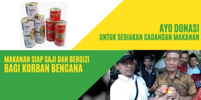 Gambar banner Cadangan Makanan Untuk Korban Bencana