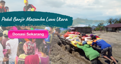 Banner Program Peduli Banjir Masamba Luwu Utara                                      title=