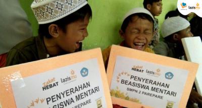 Banner program Wujudkan Cita-Cita 1000 Anak Yatim Dhuafa untuk Sekolah