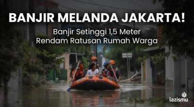 Banner Program BANJIR MELANDA JAKARTA.. SAATNYA BERGERAK                                      title=