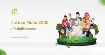 Banner program Sedekah Qurban Mulia, Bukti PeduliSesama
