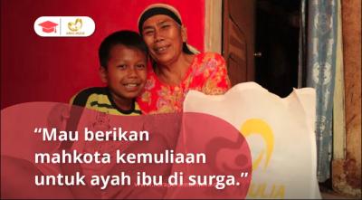 Banner Program Hadiah Tas Sekolah Baru untuk Lebaran Yatim                                      title=