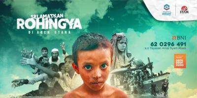 Gambar banner Selamatkan Rohingya di Aceh Utara