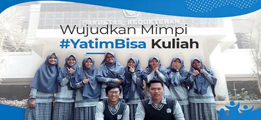 Banner Program Beasiswa Kuliah Yatim dan Dhuafa                                      title=