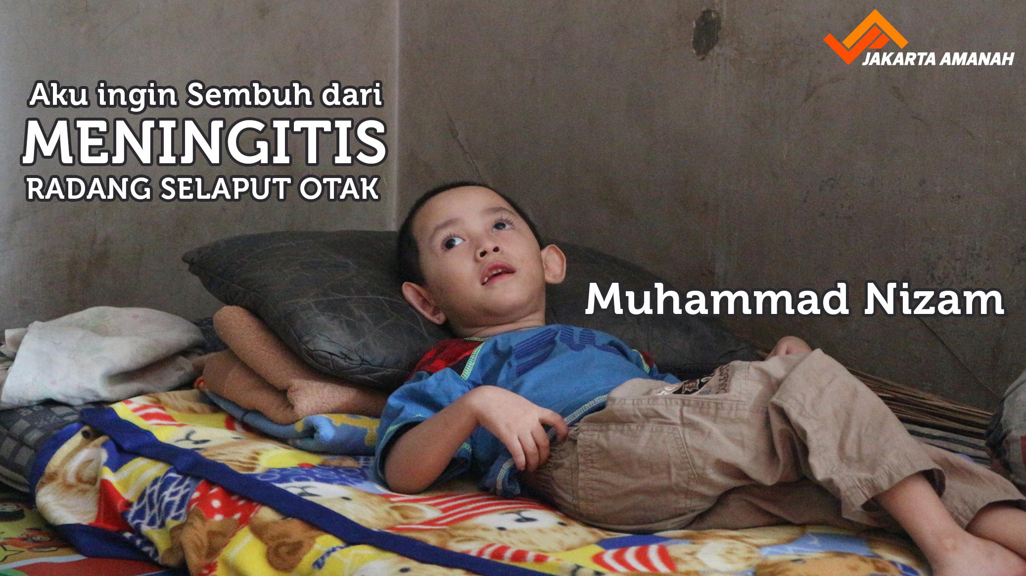 Banner Program Bantu Nizam sembuh dari meningitis                                      title=