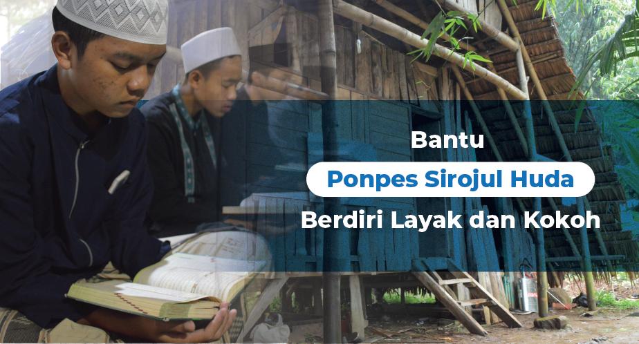 Banner Program Bangun Masjid Untuk 43 Santri Penghafal Quran                                      title=