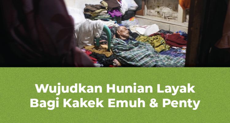 Banner Program Wujudkan Hunian Layak Bagi Pa Emuh dan Penty                                      title=