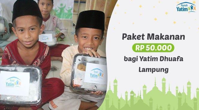 Banner Program Yatim Dhuafa Lampung Tidak Bisa Berbuka Puasa                                      title=