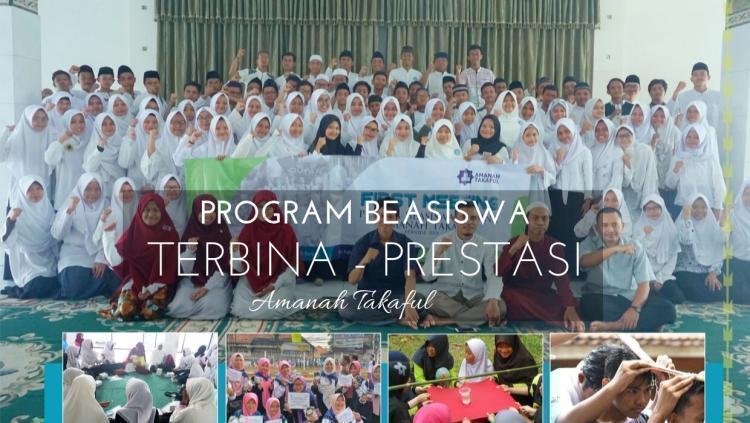 Banner program Beasiswa Amanah Takaful