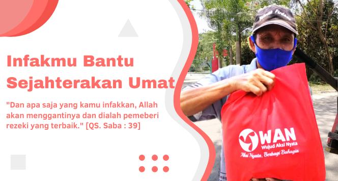 Banner program Infakmu untuk Kesejahteraan Dhuafa