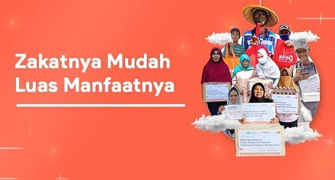 Banner program Aksi Zakat untuk Berdayakan Dhuafa Pelosok Desa