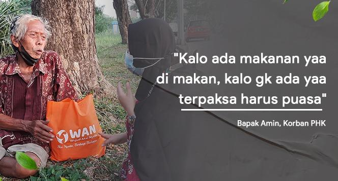 Banner program Bantu Dhuafa Bertahan Hidup di Masa Pandemi Covid-19