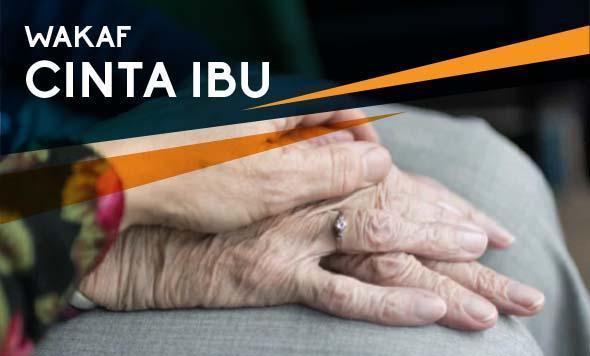 Banner program WAKAF UNTUK IBU TERCINTA
