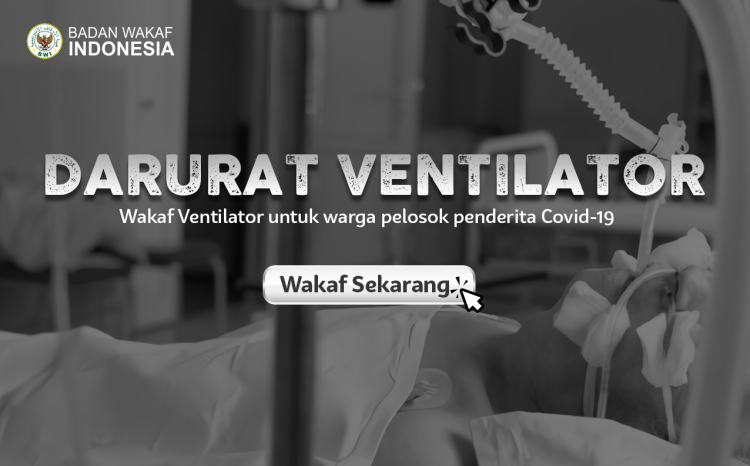 Banner program Darurat Ventilator